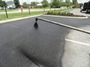 asphalt sealcoating | blacktop sealing Madison wv