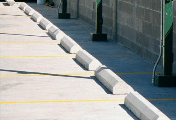 Parking Bumper Blocks Wheel Curb Stops Installation Oh