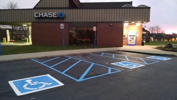 parking lot line striping wv