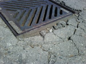 OH catch basin storm sewer drain repair